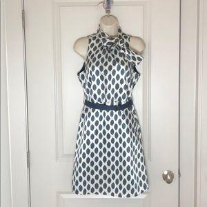 Forever 21 Navy Polka Dot Dress NWOT